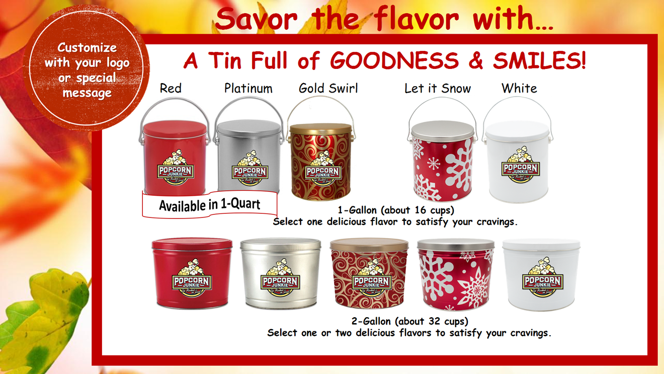 Fall & Winter Tins